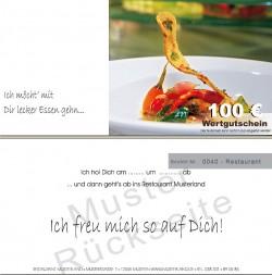Restaurant Gutscheine