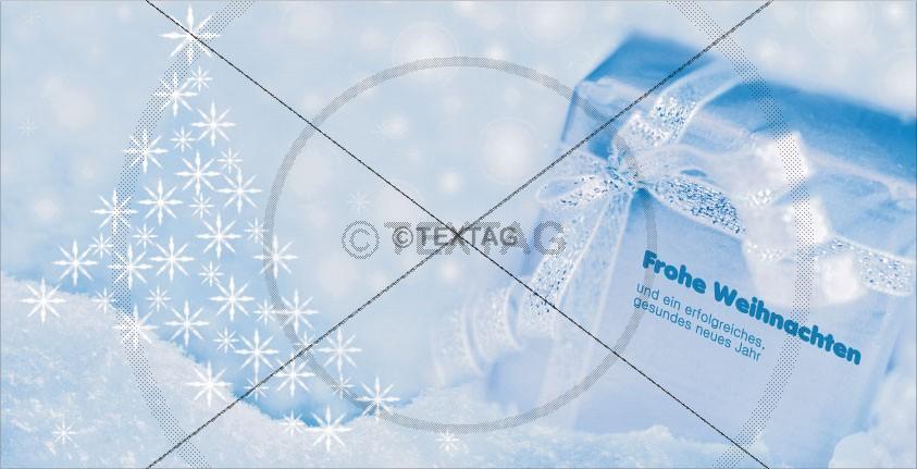 Weihnachtsgrußkarte mit Spruch, geschäftlich, Vorderseite,DIN-lang-quer5-1