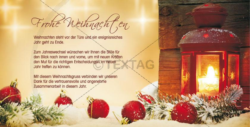 nostalgische weihnachtskarte mit spruch. Black Bedroom Furniture Sets. Home Design Ideas