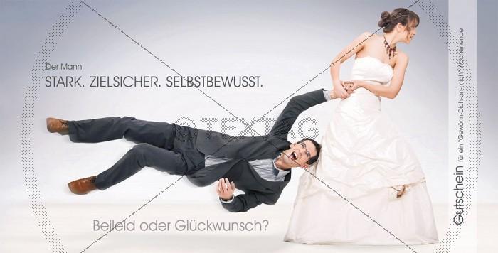 Hochzeit FUNCARD - Gutschein - 217-GS-Hochzeit
