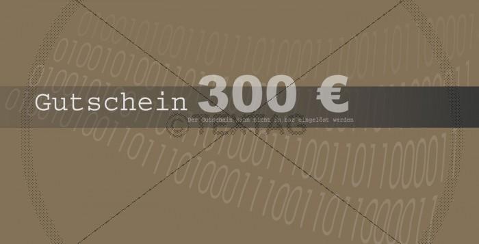 Mitarbeiter-Weiterbildung Gutschein-Scheck 300 € - 122-G-pc-kurs