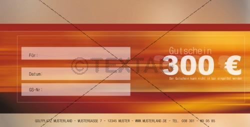 Wellness Gutschein - Wertgutschein 300 € (151)
