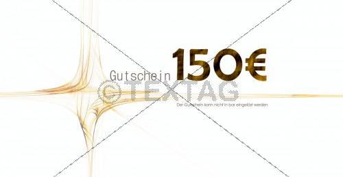 klassischer Restaurantgutschein - Wertgutschein 150 € - 211-GS-Restaurant