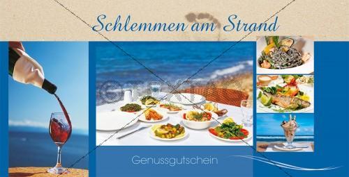 Restaurantgutschein die praktische Geschenkidee - Wertgutschein 75 € - 203-GS-Restaurant