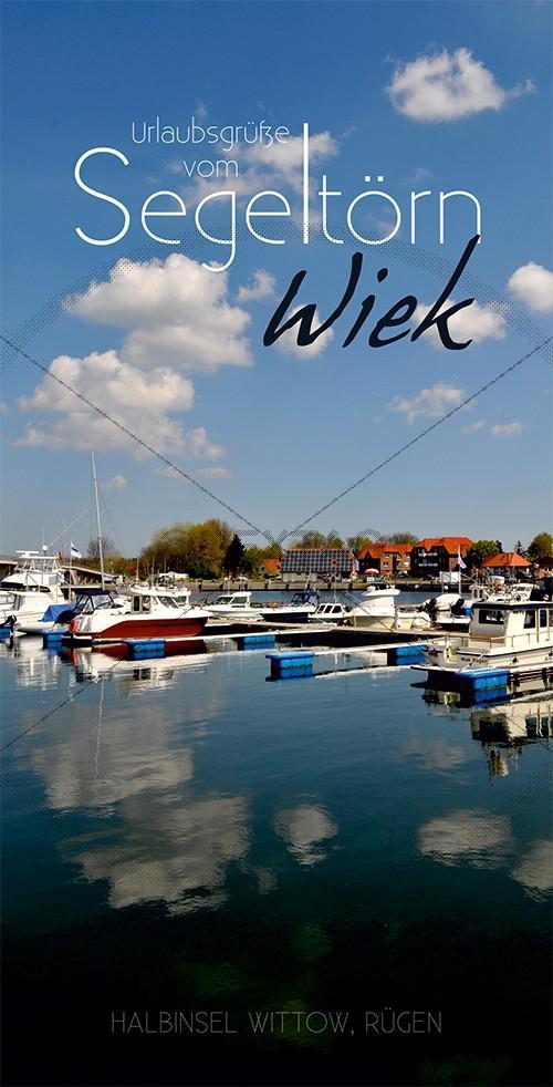 Ansichtskarte Marina, Yachthaften Wiek, Halbinsel Wittow (191)