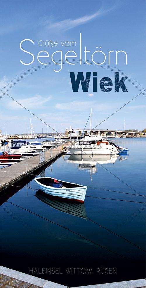 Ansichtskarte Marina, Yachthaften Wiek, Halbinsel Wittow (193)