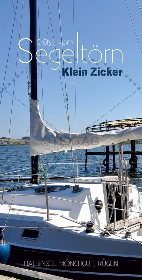 Ansichtskarte Segeltörn, Klein Zicker, Halbinsel Mönchgut auf Rügen (197)