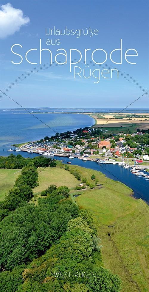 Ansichtskarte Hafen Schaprode, West-Rügen (199)
