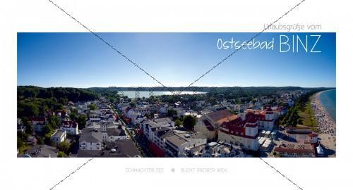 Maxi Card Postkarte - Ostseebad Binz mit Schmachter See (137)