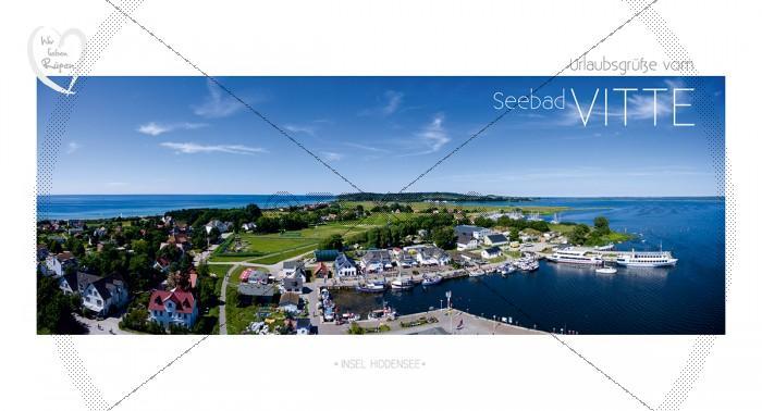 Maxi Card Postkarte - Insel Hiddensee - Vitte (138)