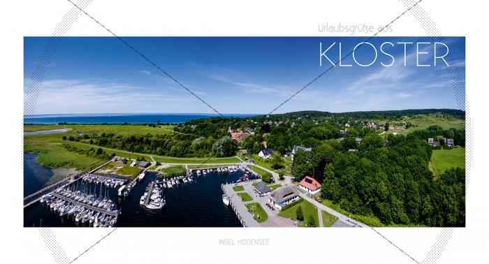Maxi Card Postkarte - Insel Hiddensee - Kloster (140)