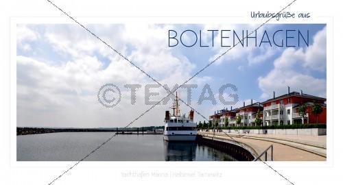 Maxi Card Postkarte - Hafen Boltenhagen (145)