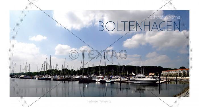 Maxi Card Postkarte - Hafen Boltenhagen (146)