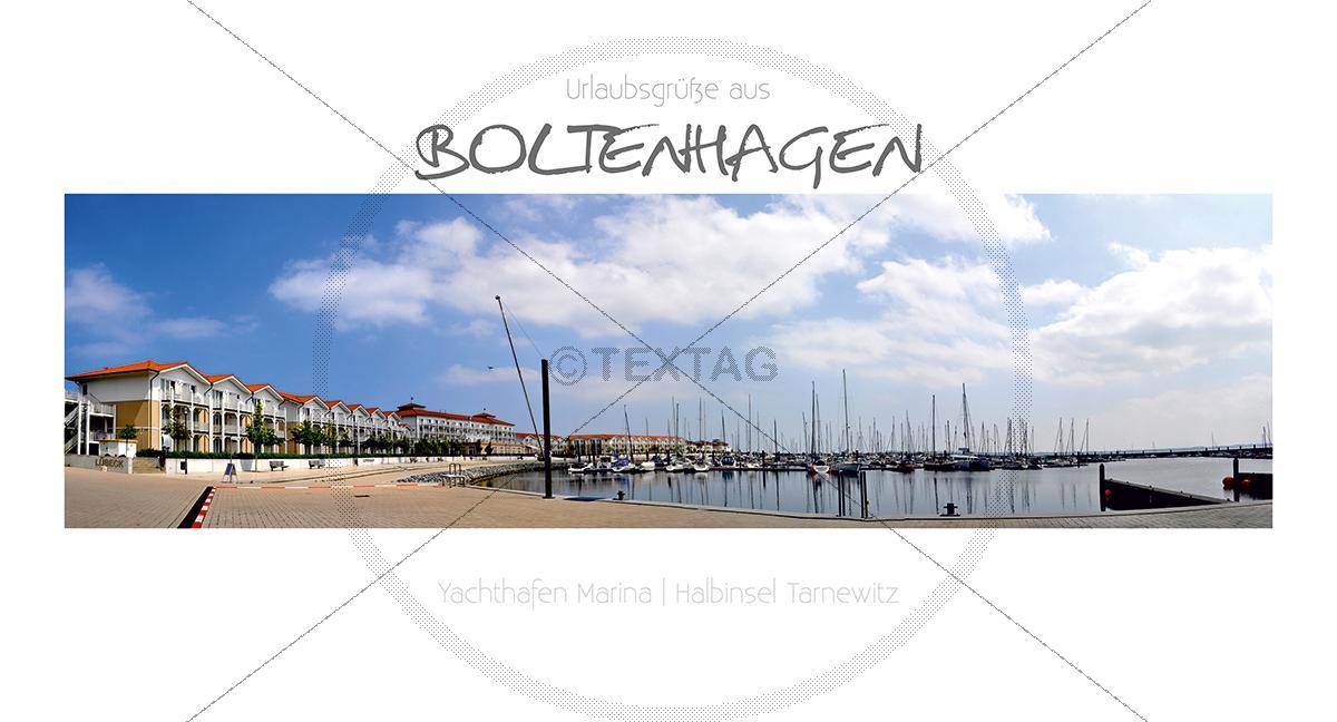 Maxi Card Postkarte - Hafen Boltenhagen (147)