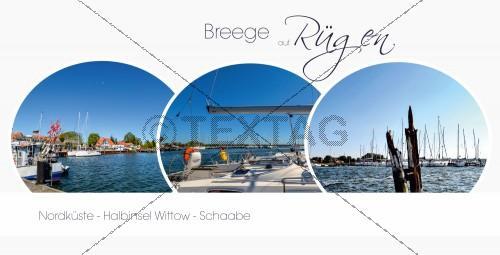 Ansichtskarte - Hafen Breege auf Rügen (161)