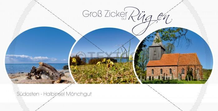 Ansichtskarte - Groß Zicker - Halbinsel Mönchgut (163)