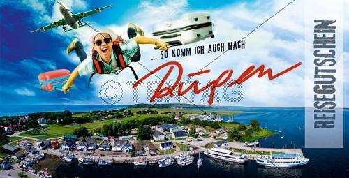 Reisegutschein Rügen, DIN Lang (224)