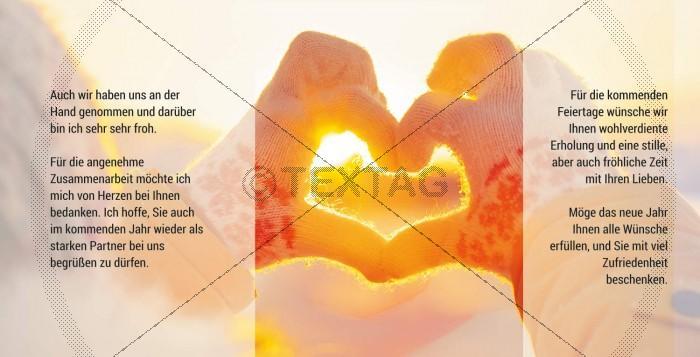 herzliche Weihnachtskarte mit Spruch, inkl. Druckkosten (33)