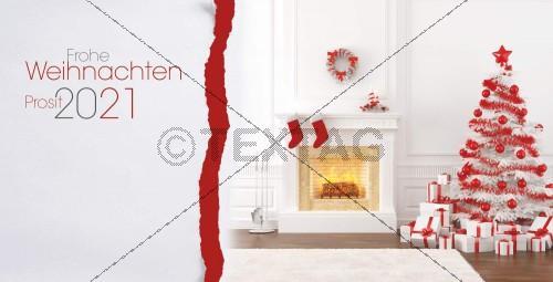 elegante Weihnachtskarte mit Spruch, geschäftlich (41)