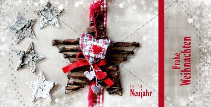 nostalgische Weihnachtskarte mit Spruch (43)