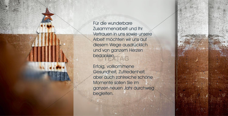 nostalgische Weihnachtskarte mit Spruch (50), inkl. Druckkosten