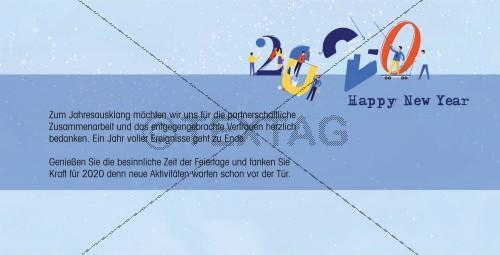 witzige Silvesterkarte inkl. Druckkosten (59)