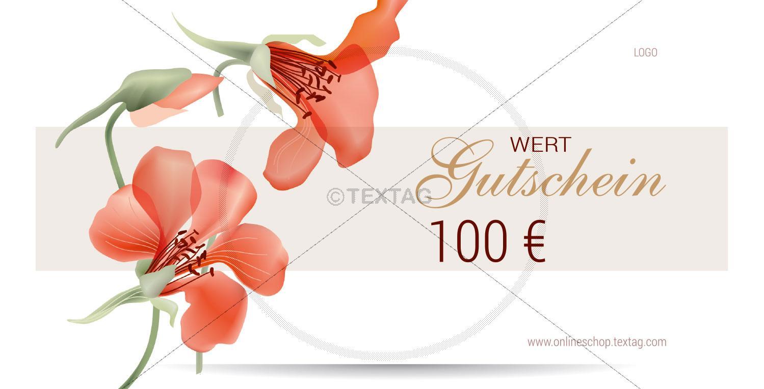 SPA Wertgutschein (100 €), DIN lang (229)